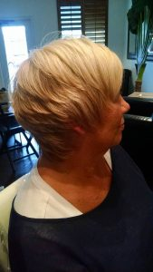 Blonde Short Women's Hair Style