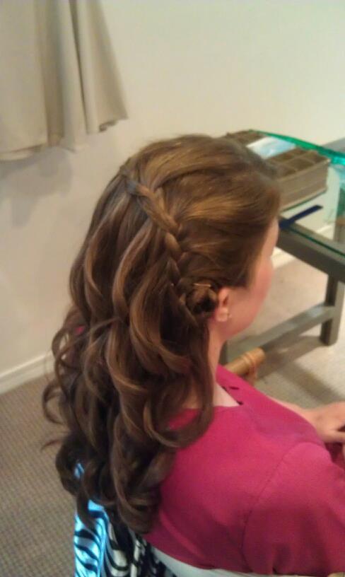 Brunette Color Long Hair Women's Hair Style